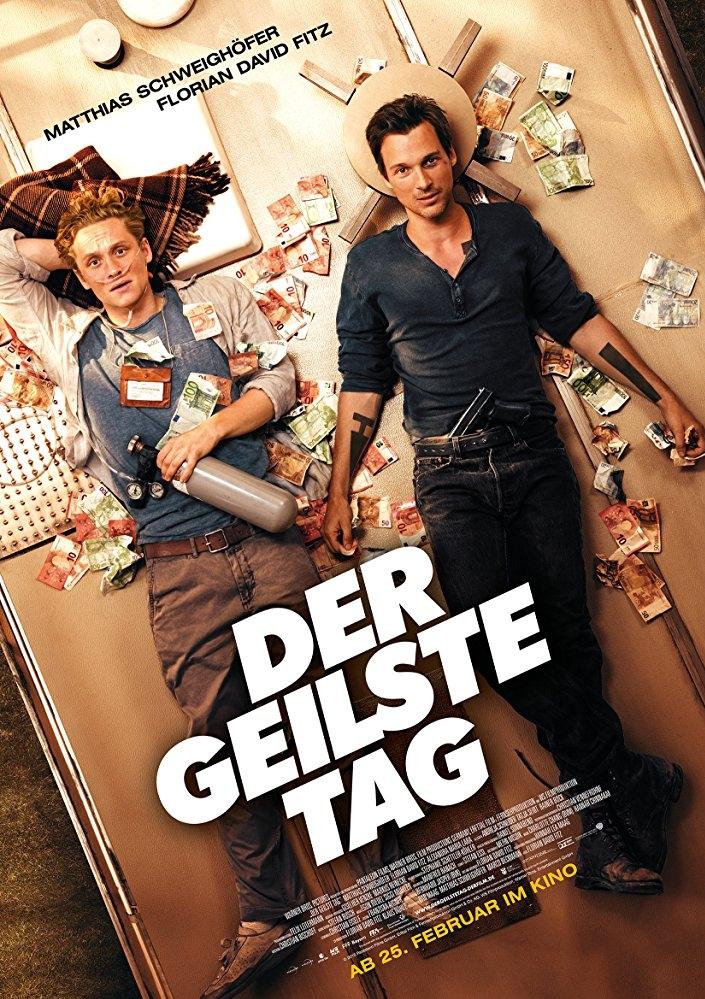 Der geilste Tag poster, copyright in handen van productiestudio en/of distributeur