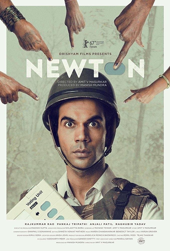 Newton poster, copyright in handen van productiestudio en/of distributeur