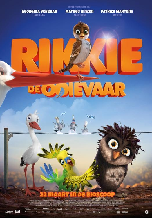 Richard the Stork poster, © 2017 Just Film Distribution