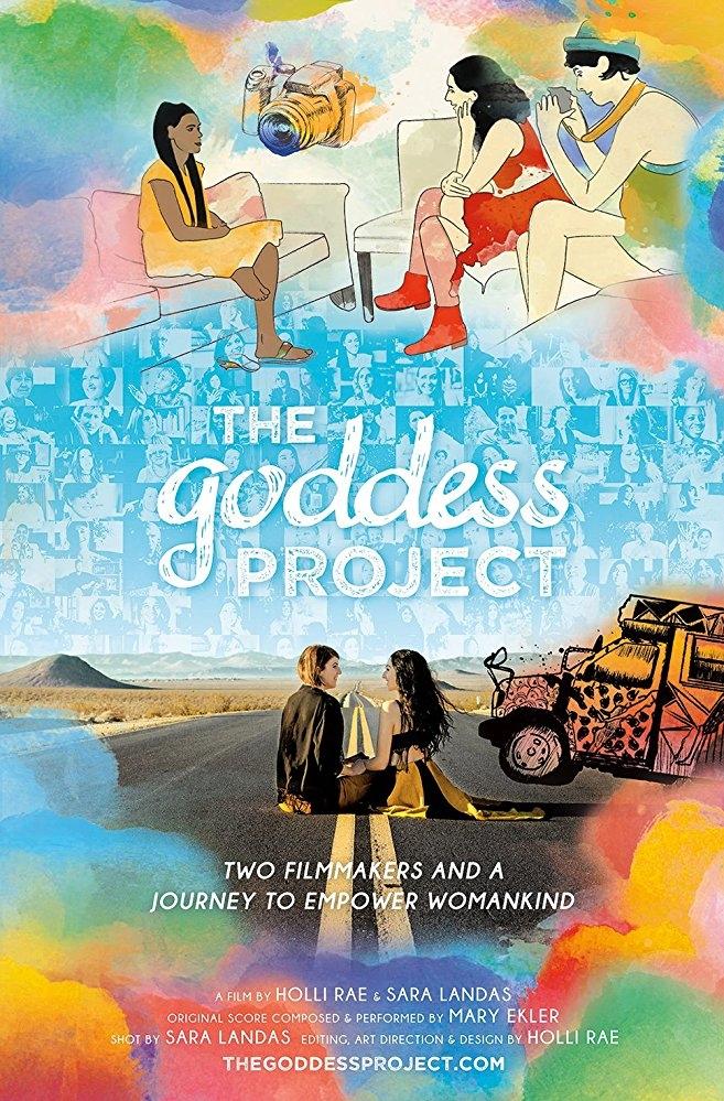The Goddess Project poster, copyright in handen van productiestudio en/of distributeur