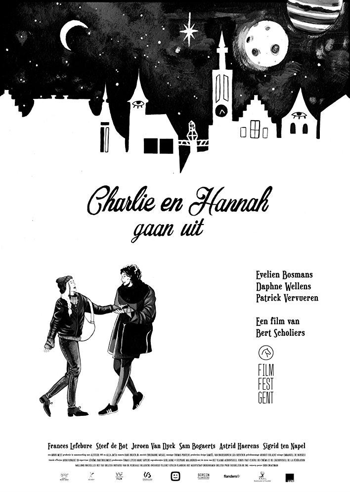 Charlie en Hannah gaan uit poster, copyright in handen van productiestudio en/of distributeur