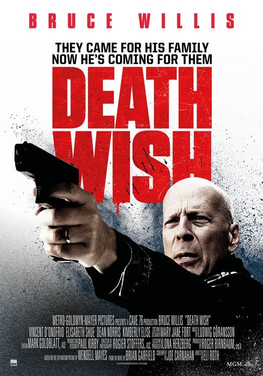 Death Wish poster, © 2017 Dutch FilmWorks