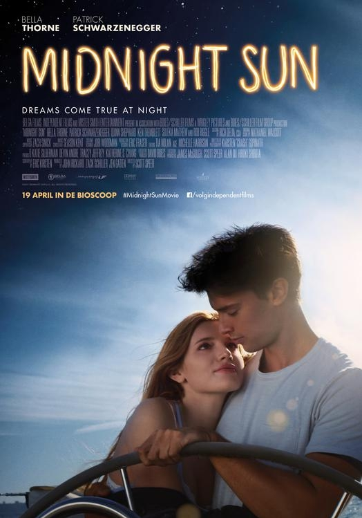 Midnight Sun poster, © 2018 Independent Films