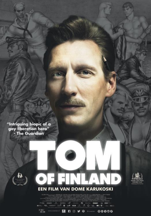 Tom of Finland poster, © 2017 Cinemien