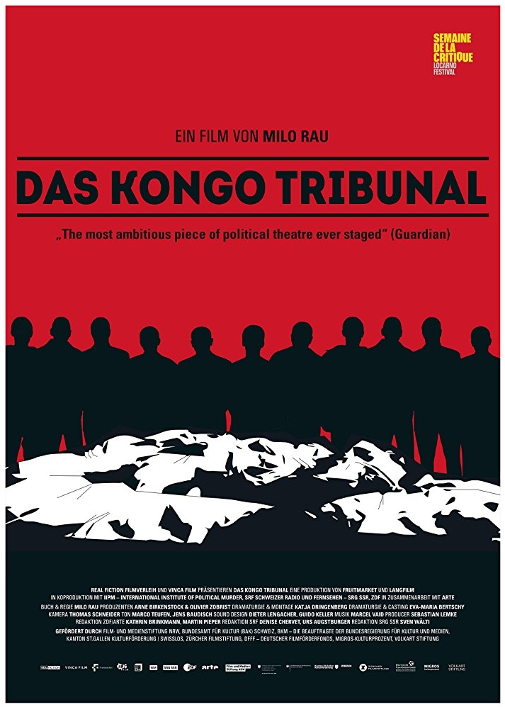The Congo Tribunal poster, copyright in handen van productiestudio en/of distributeur