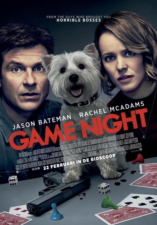 Game Night poster, © 2018 Warner Bros.