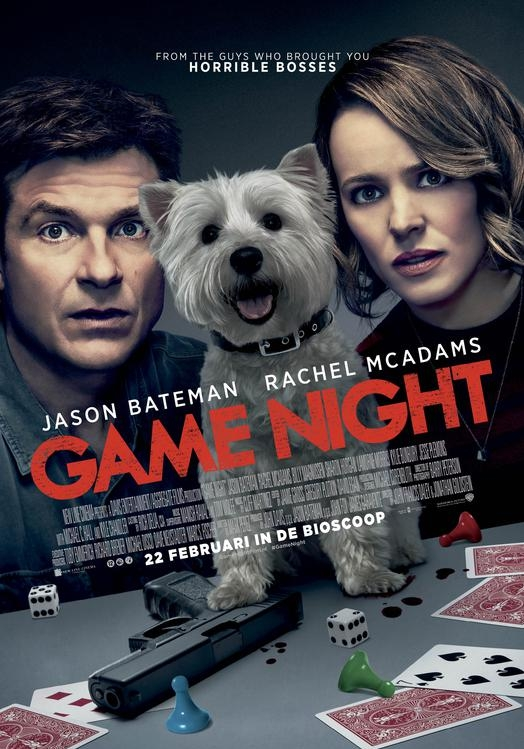 Game Night poster, © 2018 Warner Bros.
