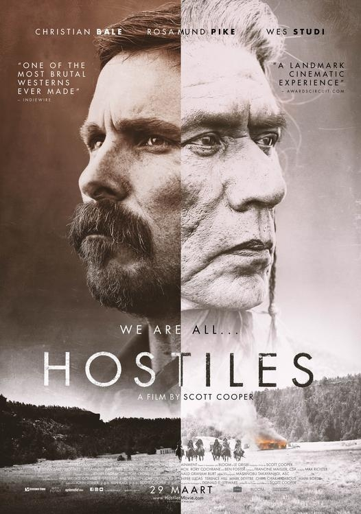 Hostiles poster, © 2017 Splendid Film