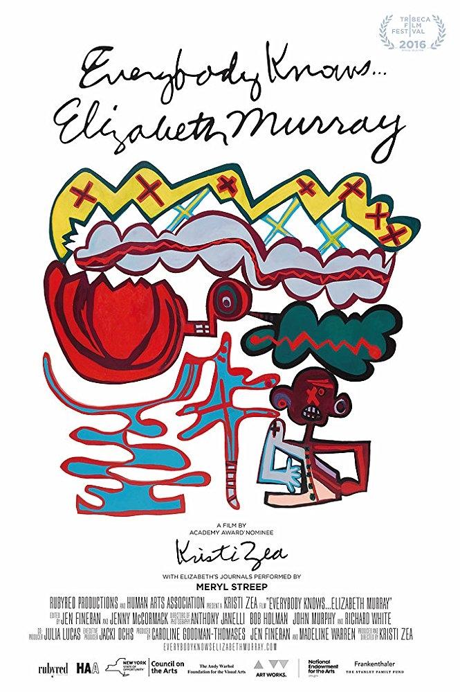 Everybody Knows... Elizabeth Murray poster, copyright in handen van productiestudio en/of distributeur