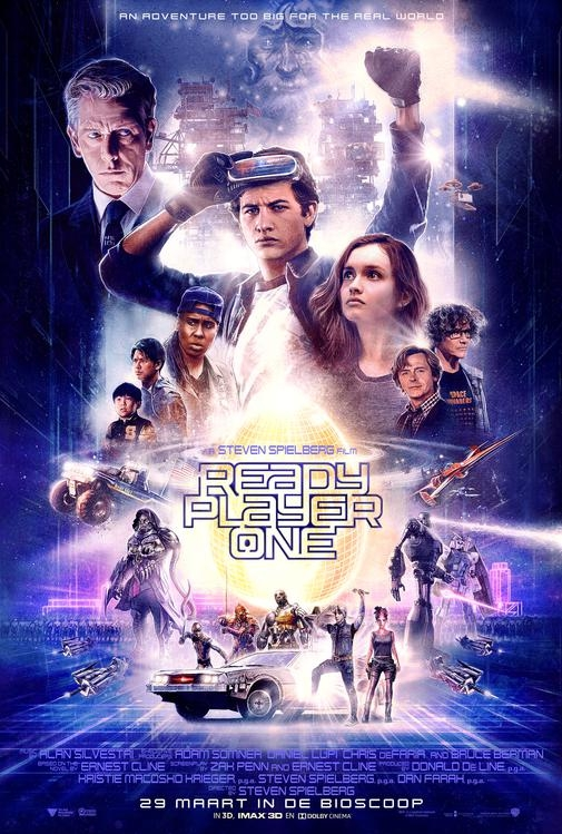 Ready Player One poster, © 2018 Warner Bros.
