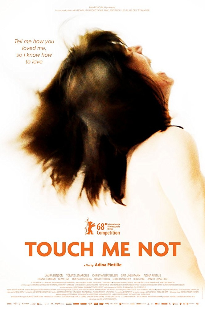 Touch Me Not poster, copyright in handen van productiestudio en/of distributeur
