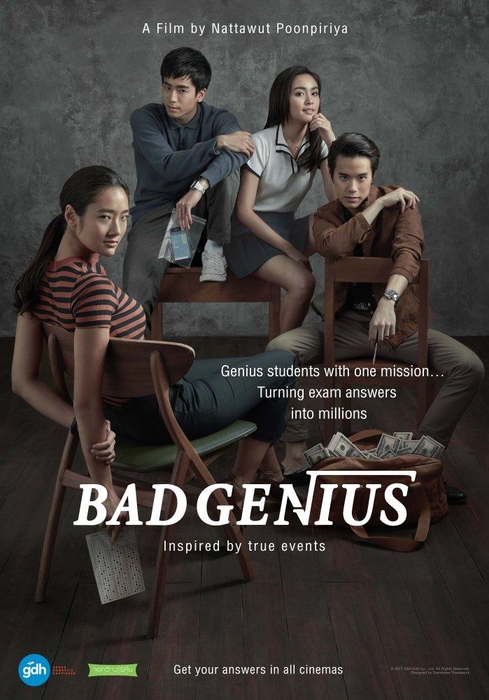 Bad Genius poster, copyright in handen van productiestudio en/of distributeur