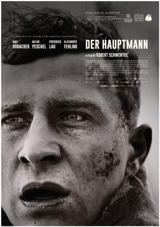 Der Hauptmann poster, © 2017 Splendid Film