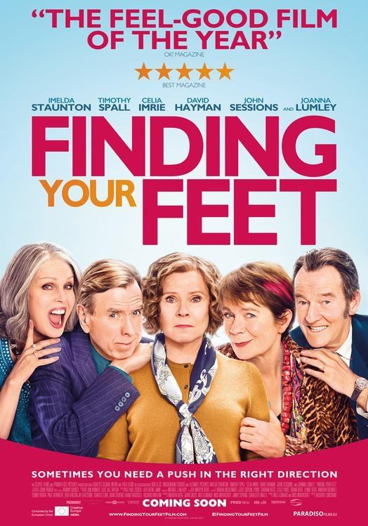 Finding Your Feet poster, © 2017 Paradiso