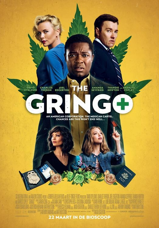 The Gringo poster, © 2018 The Searchers