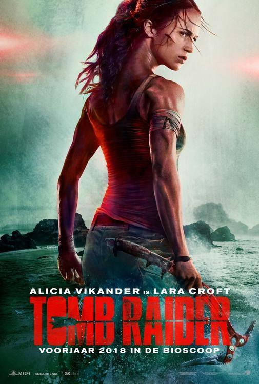 Tomb Raider poster, © 2018 Warner Bros.