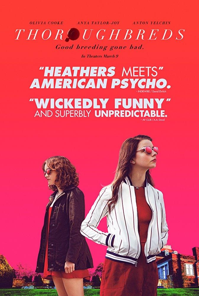 Thoroughbreds poster, copyright in handen van productiestudio en/of distributeur