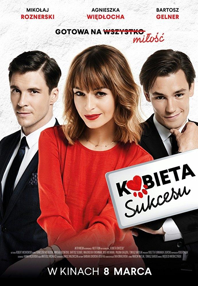 Kobieta sukcesu poster, copyright in handen van productiestudio en/of distributeur
