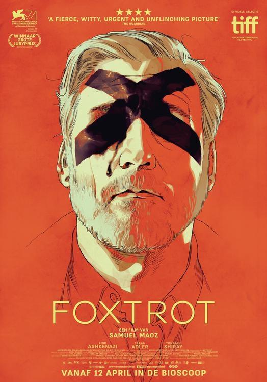 Foxtrot poster, © 2017 September
