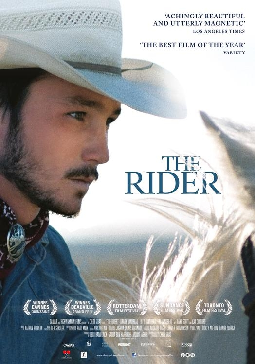 The Rider poster, © 2017 Cherry Pickers