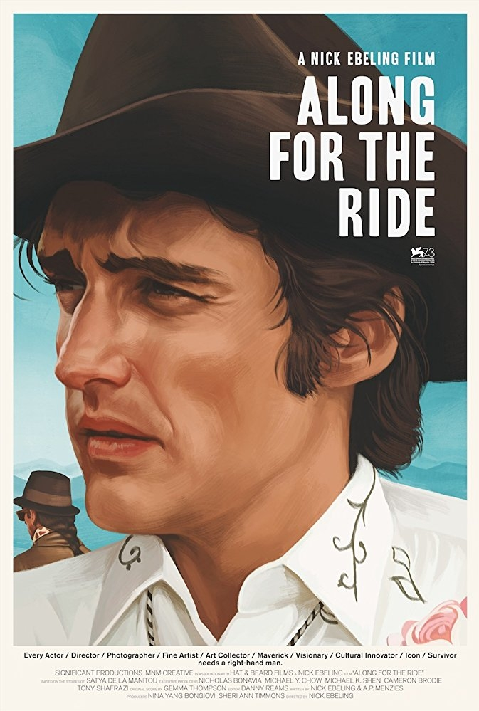 Along for the Ride poster, copyright in handen van productiestudio en/of distributeur