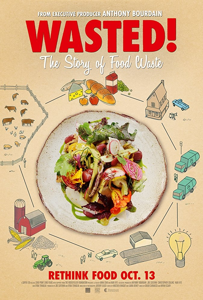 Wasted! The Story of Food Waste poster, copyright in handen van productiestudio en/of distributeur