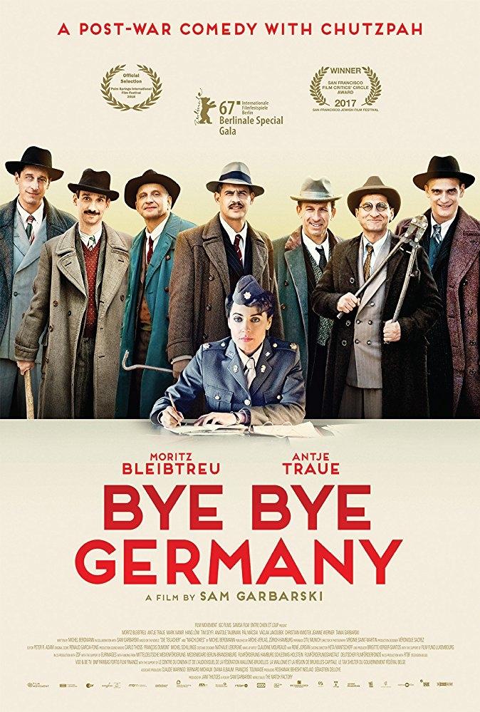 Bye Bye Germany poster, copyright in handen van productiestudio en/of distributeur