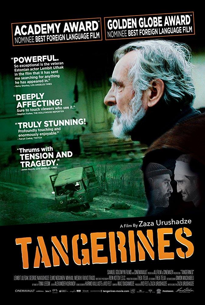 Tangerines poster, copyright in handen van productiestudio en/of distributeur