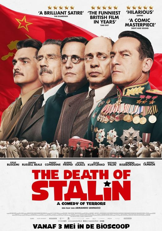 The Death of Stalin poster, © 2017 September