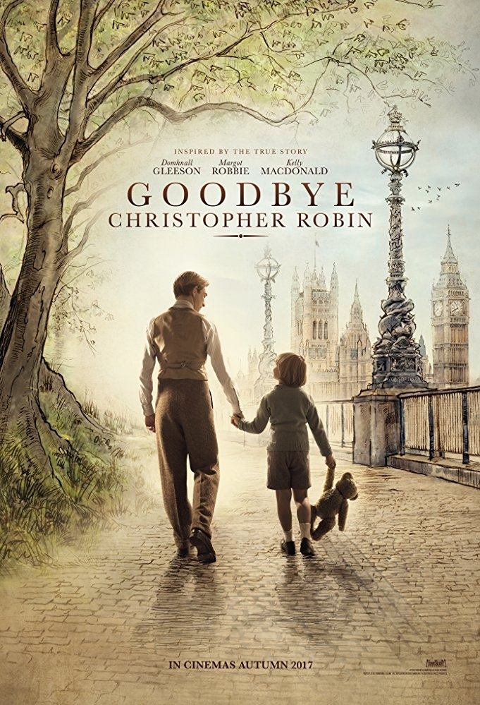 Goodbye Christopher Robin poster, © 2017 20th Century Fox