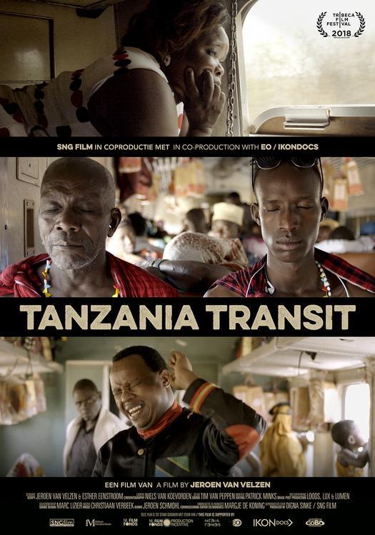 Tanzania Transit poster, © 2018 Amstelfilm