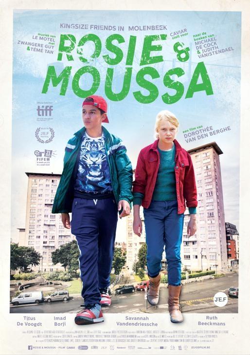 Rosie & Moussa poster, copyright in handen van productiestudio en/of distributeur