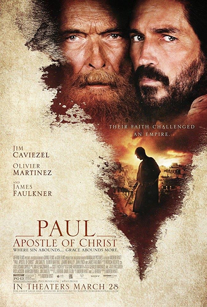 Paul, Apostle of Christ poster, copyright in handen van productiestudio en/of distributeur