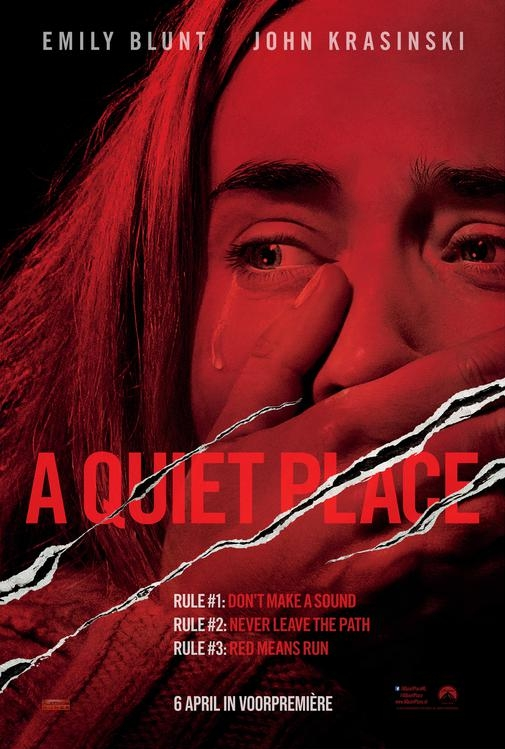 A Quiet Place poster, © 2018 Universal Pictures International
