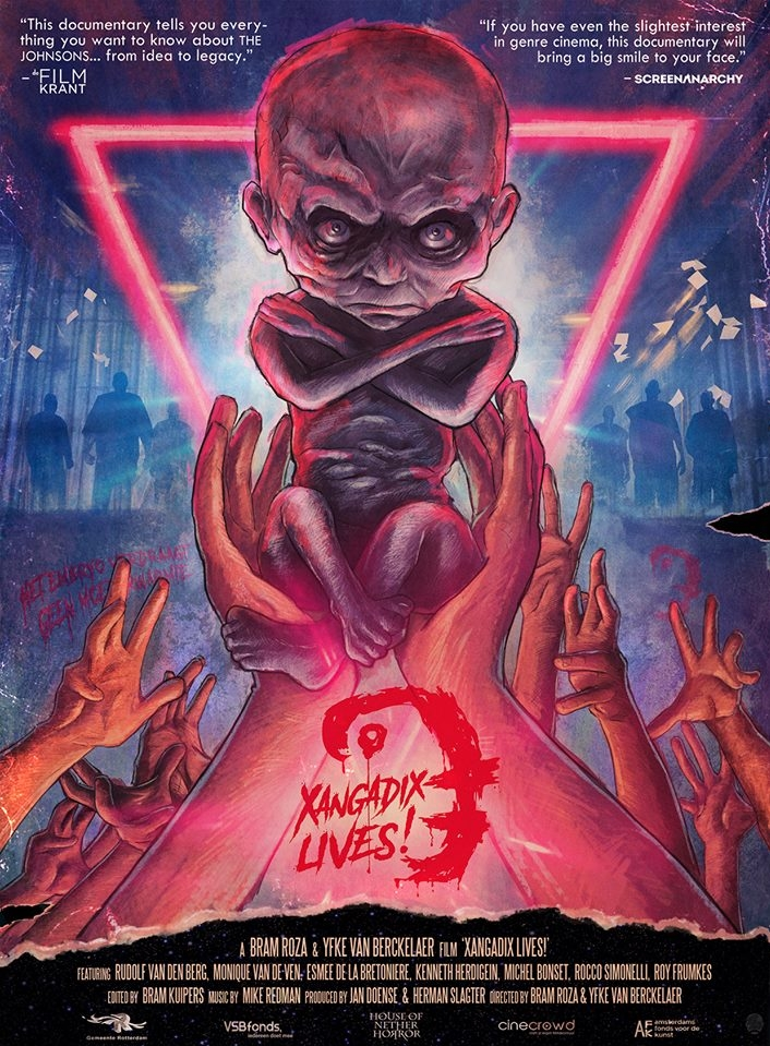 Xangadix Lives! poster, copyright in handen van productiestudio en/of distributeur