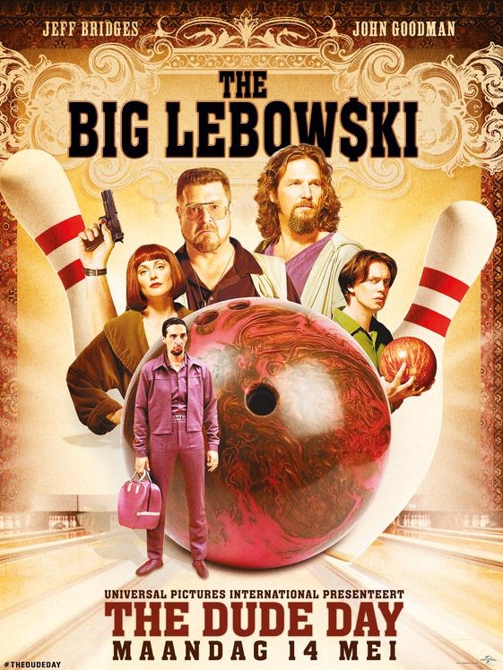 The Big Lebowski poster, © 1998 Universal Pictures International
