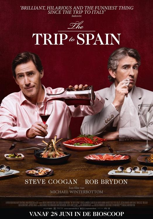 The Trip to Spain poster, © 2017 September