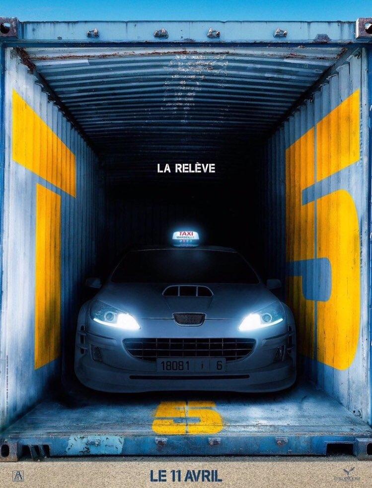 Taxi 5 poster, copyright in handen van productiestudio en/of distributeur