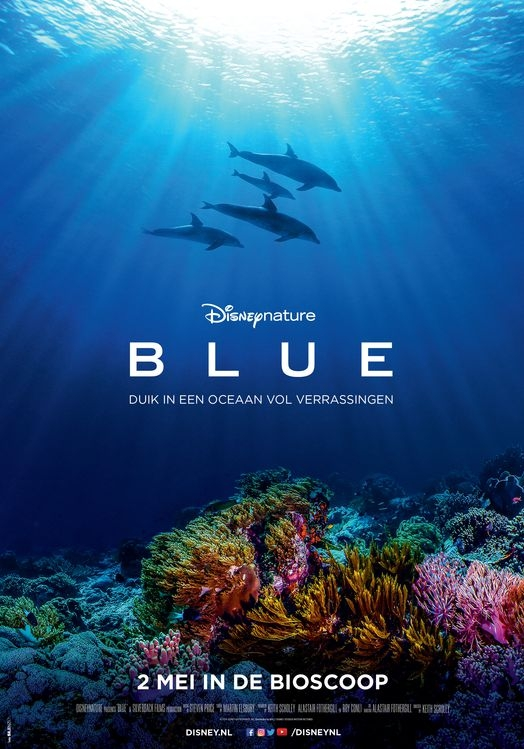 Blue poster, © 2018 Walt Disney Pictures