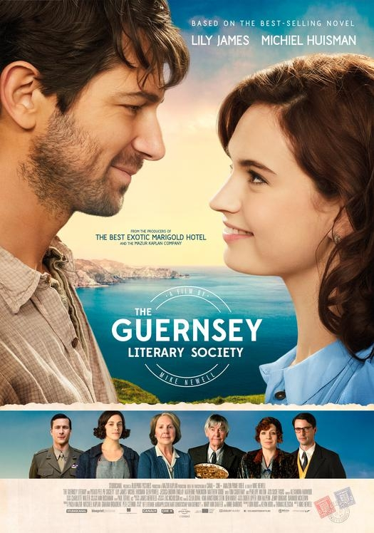 Guernsey Literary Society poster, © 2018 Independent Films