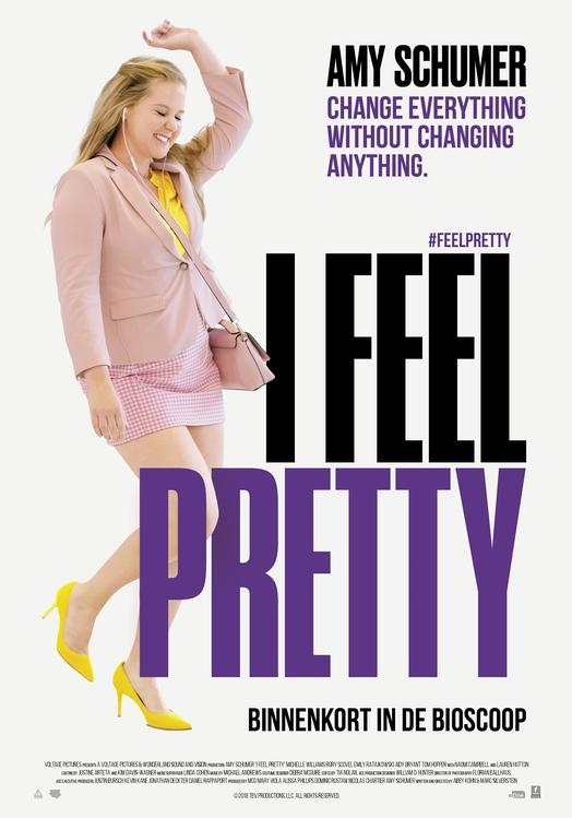 I Feel Pretty poster, © 2018 Entertainment One Benelux