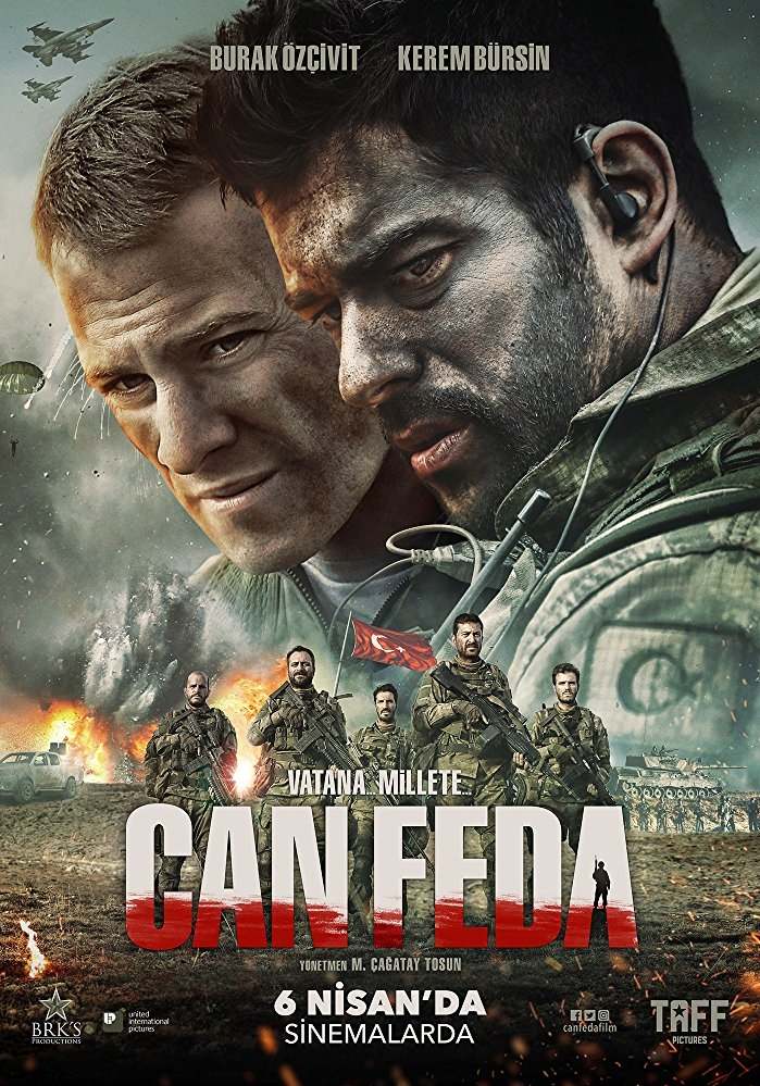 Can Feda poster, copyright in handen van productiestudio en/of distributeur