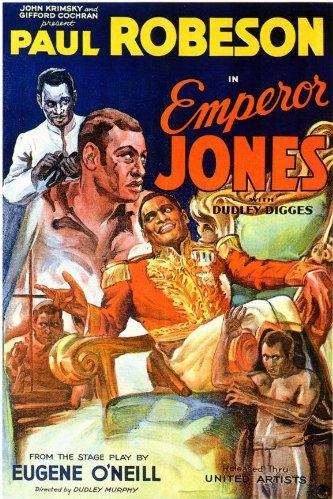 The Emperor Jones poster, copyright in handen van productiestudio en/of distributeur