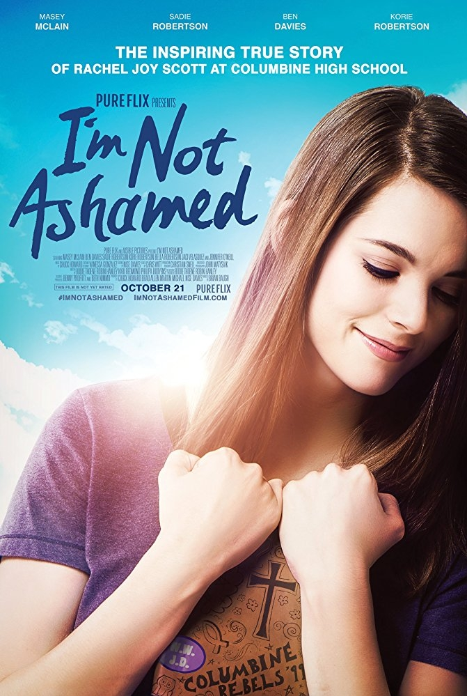 I'm Not Ashamed poster, copyright in handen van productiestudio en/of distributeur
