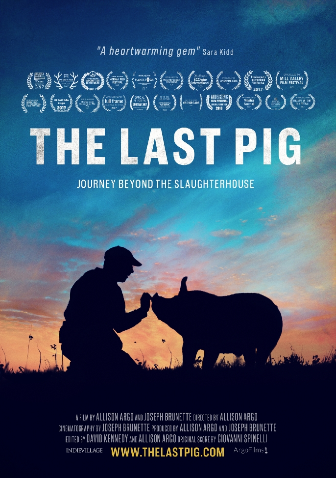 The Last Pig poster, copyright in handen van productiestudio en/of distributeur