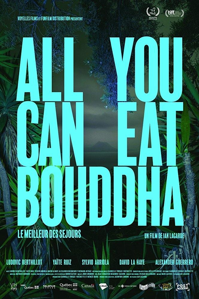 All You Can Eat Buddha poster, copyright in handen van productiestudio en/of distributeur