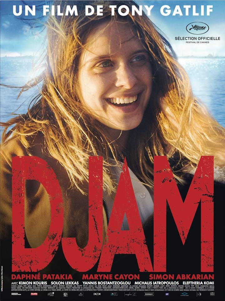 Djam poster, copyright in handen van productiestudio en/of distributeur