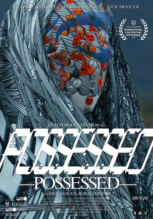 Possessed poster, copyright in handen van productiestudio en/of distributeur