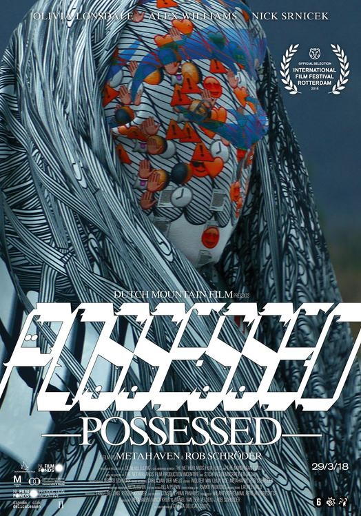 Possessed poster, copyright in handen van productiestudio en/of distributeur