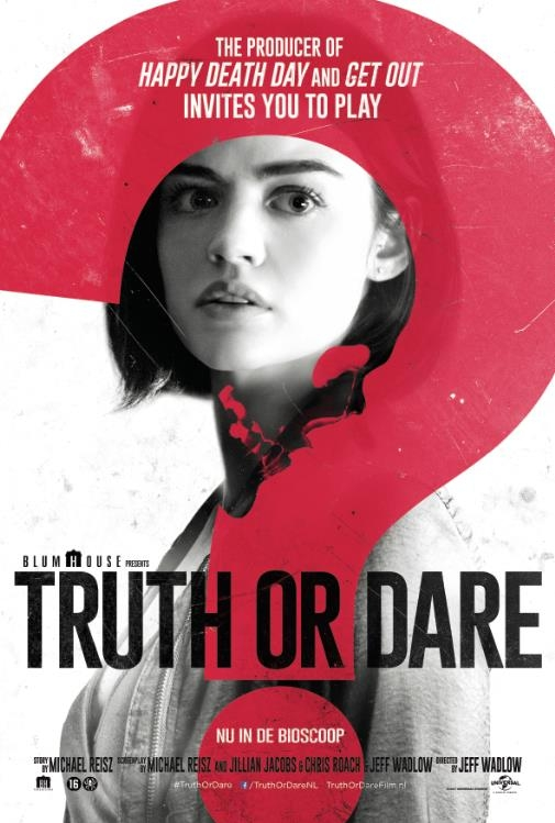 Truth or Dare poster, © 2018 Universal Pictures International